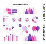 infographic elements  report... | Shutterstock .eps vector #1158116041