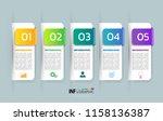 infographics design template ...   Shutterstock .eps vector #1158136387