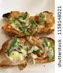 delicious homemade gluten free... | Shutterstock . vector #1158148021