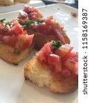 delicious homemade gluten free... | Shutterstock . vector #1158169387