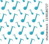 quarter musical note sign... | Shutterstock .eps vector #1158180727