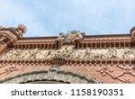 frieze entitled recompensa  ... | Shutterstock . vector #1158190351