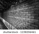 Black Brick Wall Is A...