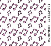 doodle 2 eighth musical note... | Shutterstock .eps vector #1158224971