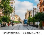 seville  spain   july 15  2018  ... | Shutterstock . vector #1158246754