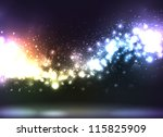 beautiful abstract illustration ... | Shutterstock . vector #115825909