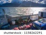 puerto natales   magallanes y... | Shutterstock . vector #1158262291