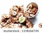 close up of dried leaves of... | Shutterstock . vector #1158266734