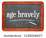 age bravely reminder   white...   Shutterstock . vector #1158268627