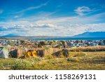 camping in puerto natales. | Shutterstock . vector #1158269131