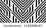 seamless pattern with striped... | Shutterstock .eps vector #1158308167