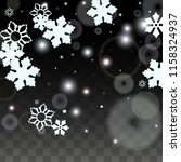 christmas  vector background... | Shutterstock .eps vector #1158324937