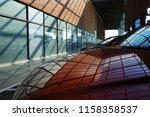 light  shadows and reflections. ... | Shutterstock . vector #1158358537