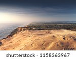 panorama view of endless sand... | Shutterstock . vector #1158363967