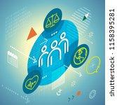 workforce management   safety... | Shutterstock .eps vector #1158395281