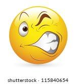 smiley emoticons face vector  ... | Shutterstock .eps vector #115840654