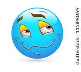 smiley emoticons face vector  ... | Shutterstock .eps vector #115840699