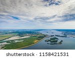 aerial photography of dutch... | Shutterstock . vector #1158421531