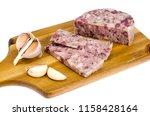 brawn dish of german cuisine....   Shutterstock . vector #1158428164