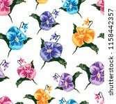 vector pattern of colorful... | Shutterstock .eps vector #1158442357