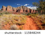 Small photo of Courthouse Butte Loop near Sedona/Arizona - USA