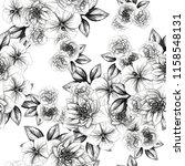abstract elegance seamless... | Shutterstock . vector #1158548131