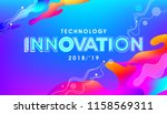 innovation concept in... | Shutterstock .eps vector #1158569311