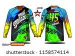 long sleeve motocross jerseys t ...   Shutterstock .eps vector #1158574114