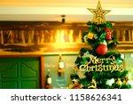 luxury interior of restaurant...   Shutterstock . vector #1158626341