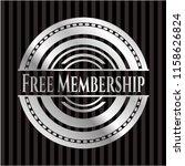 free membership silver emblem... | Shutterstock .eps vector #1158626824