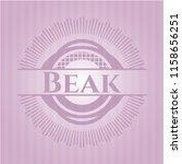 beak retro pink emblem   Shutterstock .eps vector #1158656251