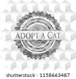 adopt a cat realistic grey... | Shutterstock .eps vector #1158663487