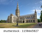 Salisbury Cathedral On A...