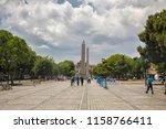 istanbul   june 18  obelisk of... | Shutterstock . vector #1158766411