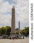 istanbul   june 18  obelisk of... | Shutterstock . vector #1158766414