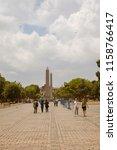 istanbul   june 18  obelisk of... | Shutterstock . vector #1158766417