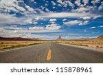 Arizona Highway Panorama With...