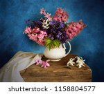 spring still life with...   Shutterstock . vector #1158804577