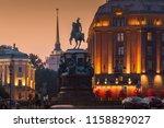 saint petersburg  russia   jul... | Shutterstock . vector #1158829027