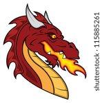 Dragon Vector Mascot