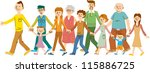 people | Shutterstock .eps vector #115886725