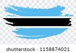 grunge brush stroke with... | Shutterstock .eps vector #1158874021