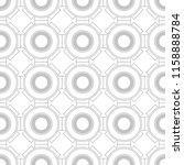 black and white geometric... | Shutterstock .eps vector #1158888784