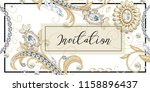 template of invitation with...