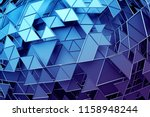 abstract 3d rendering of... | Shutterstock . vector #1158948244