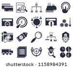 set of 20 icons such as... | Shutterstock .eps vector #1158984391