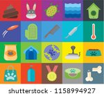 set of 20 icons such as bone ... | Shutterstock .eps vector #1158994927