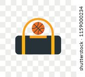 sport bag vector icon isolated... | Shutterstock .eps vector #1159000234