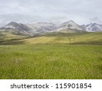 the cuillins from loch brittle  ... | Shutterstock . vector #115901854