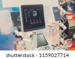 medical equipment in the... | Shutterstock . vector #1159027714